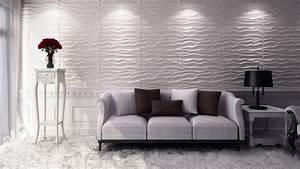 3d Wandpaneele Schlafzimmer : design ideen 3d wandpaneele deckenpaneele ~ Michelbontemps.com Haus und Dekorationen