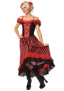 Western Saloon Girl Costumes for Women