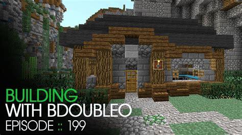 minecraft building  bdoubleo episode  relocated blacksmith youtube