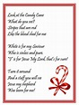 The Legend of the Candy Cane Poem