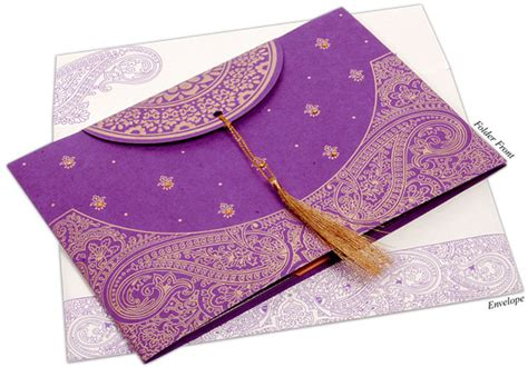 A Guide to Types of Indian Wedding Invitation Cards