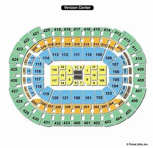 Vikings Stadium Seating Chart With Seat Numbers Verizon Center Seat View Nice Houzz