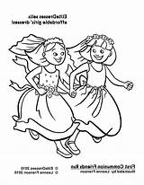 Coloring Friendship Popular sketch template