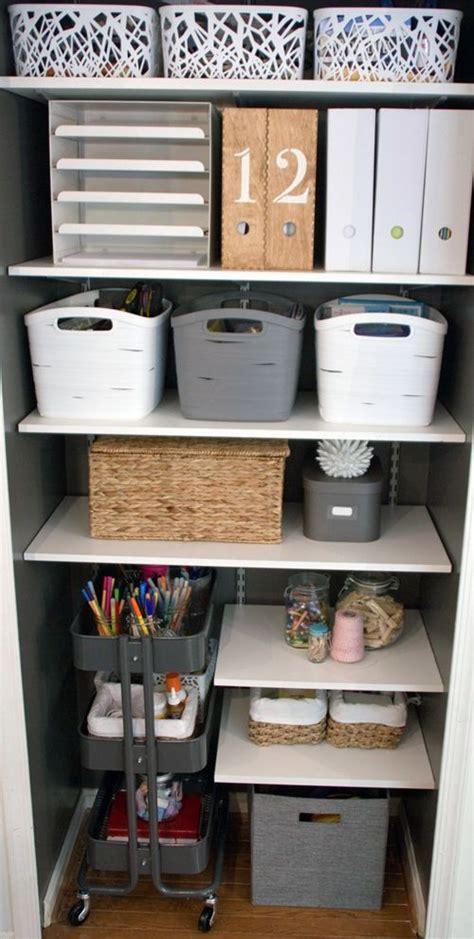 best 25 craft closet organization ideas on