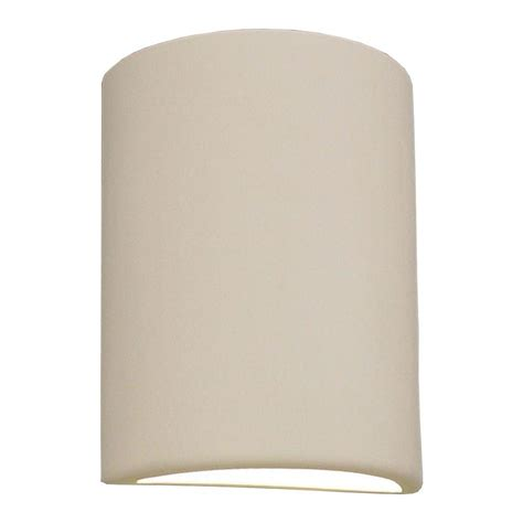 paintable wall sconce filament design daniel paintable bisque ceramic outdoor