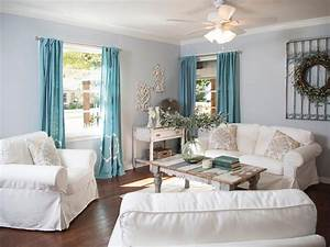 French country curtains tips for house design for Country living room curtains