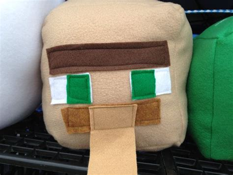 inspired plush pillows by cutesykats on deviantart 31 best images about minecraft crafts on etsy on Minecraft