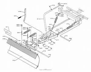 Dixon Snow Blade 36 Ztr 304  312  361  1992  Parts Diagram