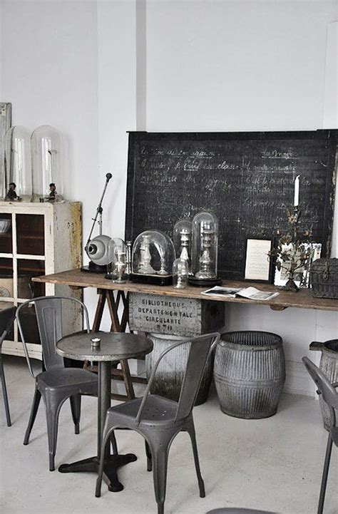 industrial style simple everyday glamour industrial chic