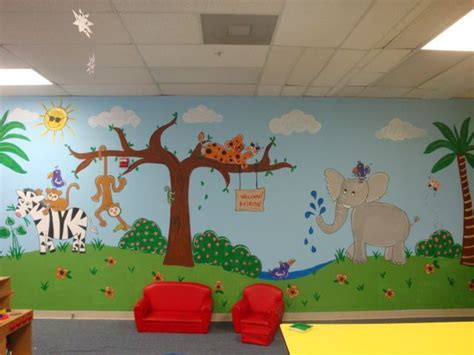 in the daycare jungle mural idea in daycare 872 | 125bf21b17a49b8adf7af1df84c27cd0