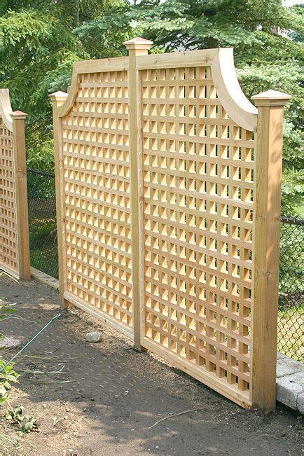 lattice privacy screen hot tub lattice privacy fence woodworking projects plans