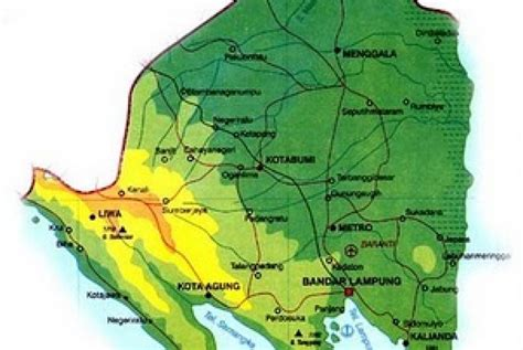 provinsi lampung tambah dua kabupaten  republika