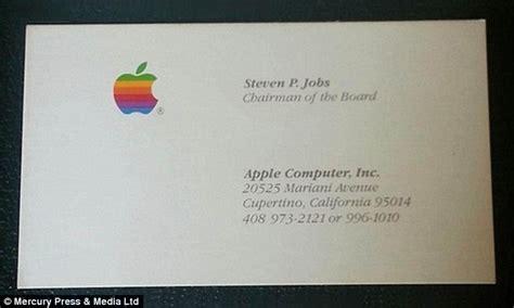 Rare Steve Jobs Business Cards From Apple, Next And Pixar Business Card Karachi Layout Word Logo Ideas Trends 2018 Ai Template American Psycho Cards Bulk Casual Men