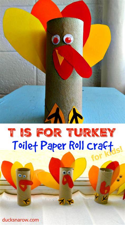 t is for turkey preschool toilet paper craft ducks n a row 611   T%2Bis%2Bfor%2BTurkey%2Bcollage