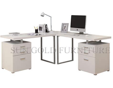 bureau ordinateur moderne moderne simple de bureau à domicile petit ordinateur