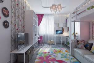 Pretty Girls Bedroom by Bright And Colorful Kids Room Designs With Whimsical