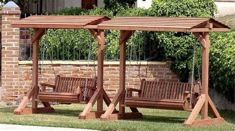 17 best ideas about garden swing seat on