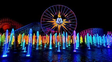 world color update world of color at disney california adventure will