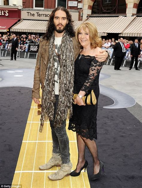 russell brand rebirth tour russell brand s mother 71 battling life threatening