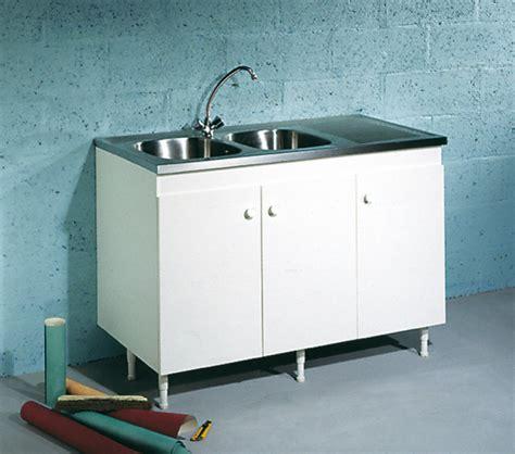balitrand cuisine meuble sous évier 2 portes largeur 1200 mm