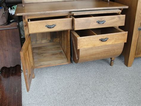 antique primitive possum belly kitchen cabinet from