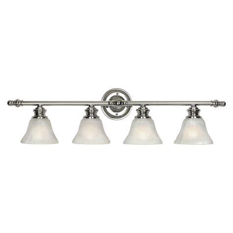 lowes vanity lights shop royce lighting 4 light chrome bathroom vanity light