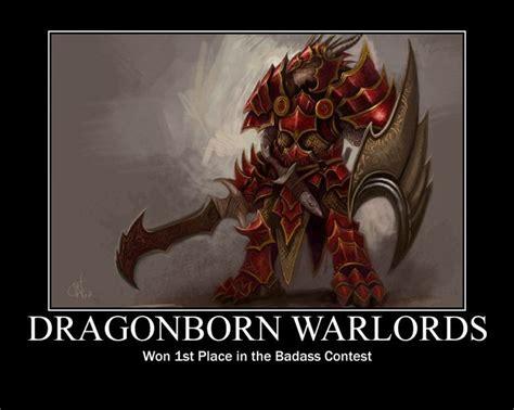 Dragonborn Meme - dungeons and dragons dragonborn dragonborn motivational by revednight d d pinterest