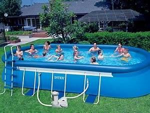 piscine autoportee en soldes With piscine autoportee rectangulaire intex 1 photo piscine bois hawai