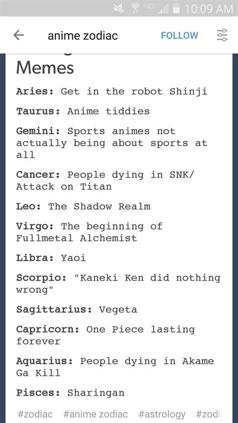 Zodiac Meme - zodiac memes 28 images pokemon zodiac signs with month images pokemon images search results