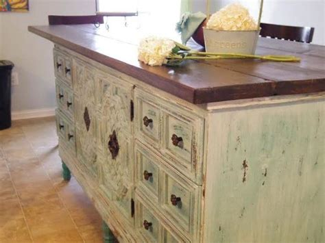 make a kitchen island from a dresser how to turn a dresser into a kitchen island hometalk 9894