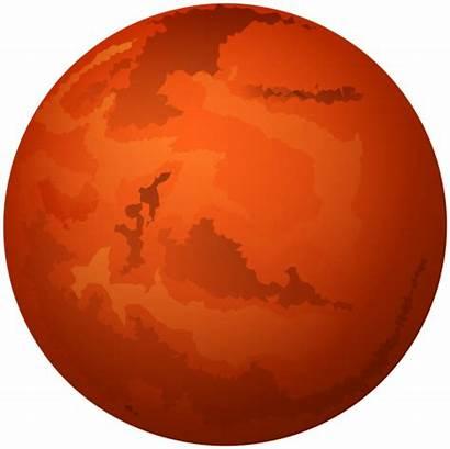 Mars Clip Planet Clipart Planets Marte Kb