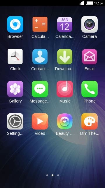 oppo fs  android theme  launcher