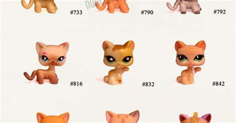 Lps Shorthair Cats Numbers Mungfali
