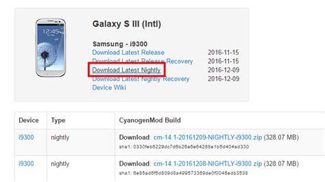 jak zainstalować cyanogenmod 14 1 w galaxy s3 android 7 1