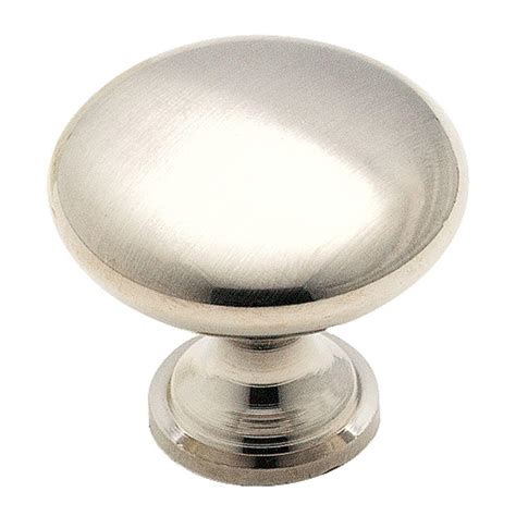 home depot cabinet knobs amerock 1 3 16 in brushed chrome cabinet knob 14404sch