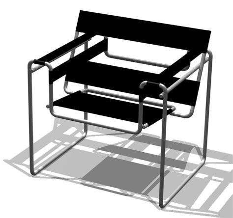 chaise wassily file bauhaus chair breuer png