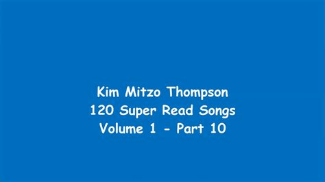 120 Super Read Songs Volume One (part