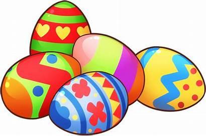 Easter Egg Eggs Clip Grass Transparent Clipart