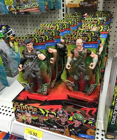 Walmart Action Figures Corps Inch Enlarge Battlegrip