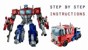 Optimus Prime Transformation Transformers Combiner Wars
