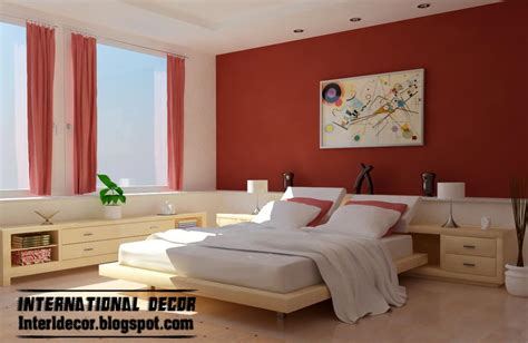 latest bedroom color schemes  bedroom paint colors