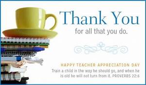 Teacher - Prov. 22:6 eCard - Free Teachers' Day Cards Online