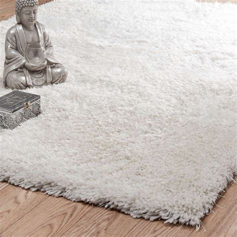 tapis 224 poils longs 233 cru 200 x 300 cm polaire maisons du