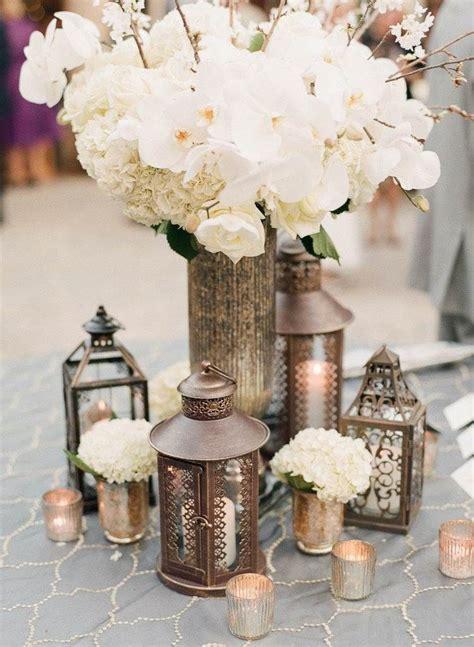 idee de centre de table pour mariage champetre chic
