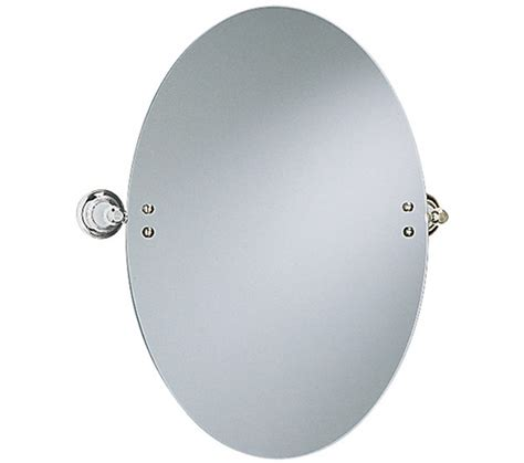 heritage clifton oval swivel mirror chrome acc17