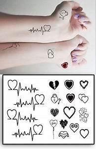 Tatouage Symbole Vie : tatouages temporaires coeurs et clefs tattoos pinterest tatouage tatouage discret et ~ Melissatoandfro.com Idées de Décoration