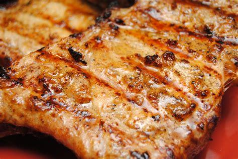 grilled pork chops pork biscuits n crazy