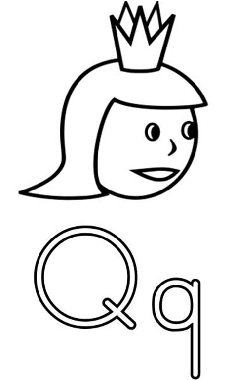 queen coloring page printable worksheets  kids