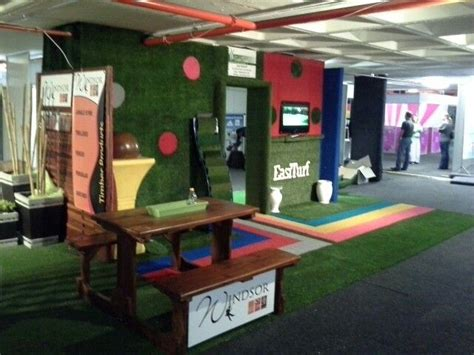 Easiturf stand at Homemakers expo | Picnic table ...