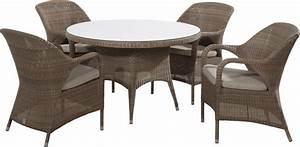 Chaise En Résine Tressée : chaise de table de jardin sussex en r sine tress e 4 seasons ~ Dallasstarsshop.com Idées de Décoration